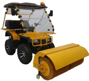 lc570驾驶式扫雪机